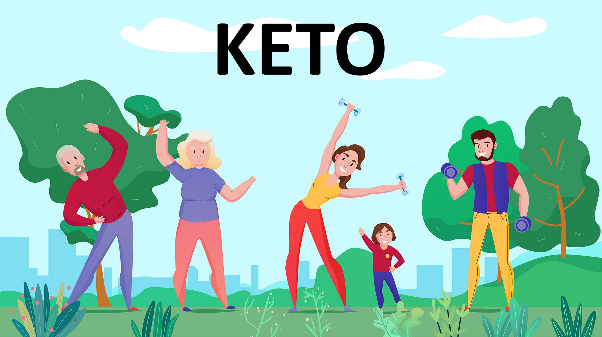 Тренировки на кето диете